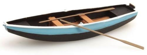 Artitec HO 387.09-BL Rowboat, Blue (Steel)