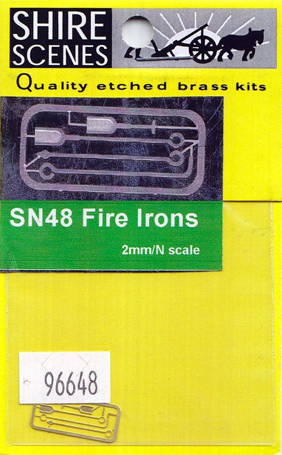 N Scale Architect N 96648 Shire Scenes (SN48) Fire Irons (d)