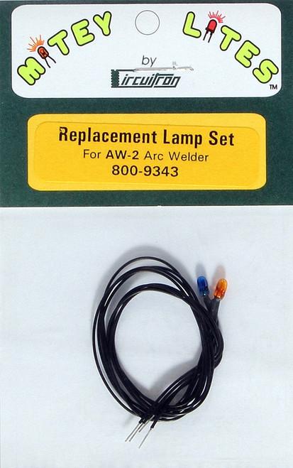 Circuitron 800-9343 Replacement Lamp Set AW-2 Arc Welder