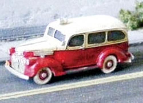 GHQ N 57017 1941 Chevy Ambulance Kit