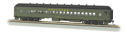 Bachmann HO 13706 72' Heavyweight Coach with LED Lighted Interior, Southern #1050