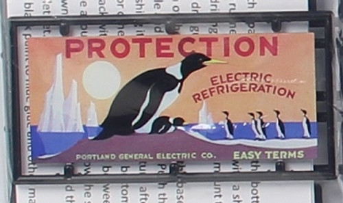 """Tichy Train Group HO 8445 Billboard Kit, Electric Refrigeration """"Protection"""""""