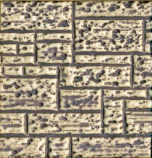 Chooch HO/O 8528 Flexible Block Wall Sheet, Large for HO/S/O Scales (d)