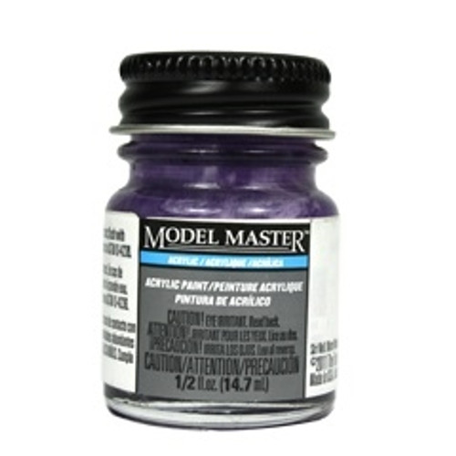 Model Master 4613 Napoleonic Violet Acrylic, Flat (1/2 oz. Bottle)