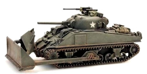 Artitec HO 387.116 US/UK Sherman M4 'Dozer'