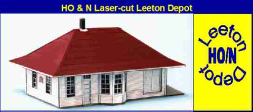Blair Line N 088 Leeton Depot Kit