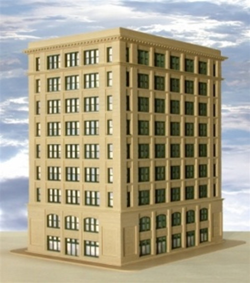 Custom Model Railroads N 015 The Greene Street Building Standard Kit