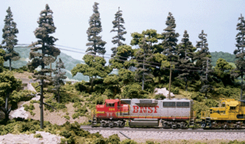 Scenic Express N EX0221 N Scale Super Trees Complete Starter