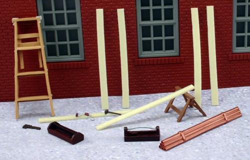 American Heritage Models O 43-921 Carpenter Building Set