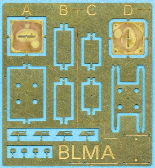 BLMA N 92 Locomotive Antenna Stands (Four Styles with Mounting Brackets)