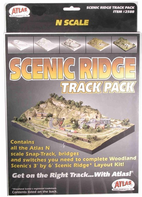 Atlas N 2588 Scenic Ridge Track Package