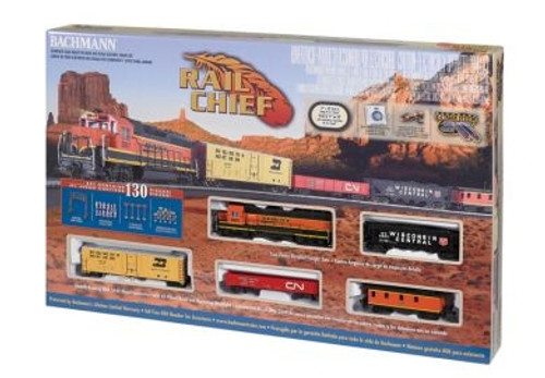 Bachmann HO 00706 Rail Chief Set with E-Z Track