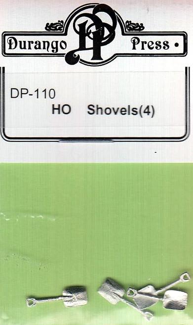 Durango Press HO 110 Shovels (4)