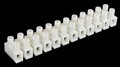 A.E. Corporation TB-20 12 Position Customizable Terminal Block (Cut to desired amount)
