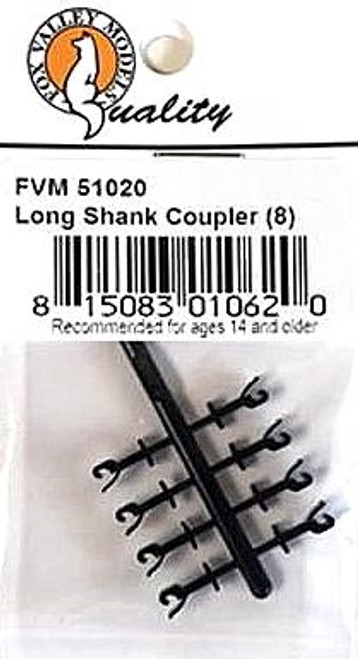 Fox Valley Models N 51020 Long Shank Couplers (8)