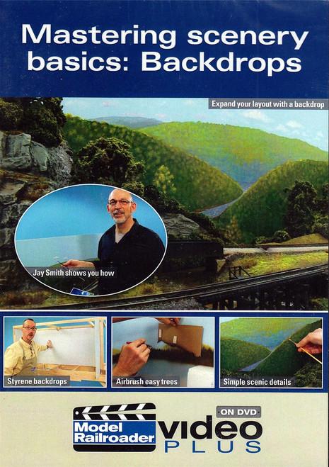 Kalmbach Publishing DVD 15309 Mastering Scenery Basics: Backdrops