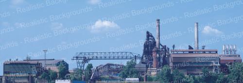 """Realistic Backgrounds 704-13 BOF Ore Bridge Scene 13"""" x 38"""""""