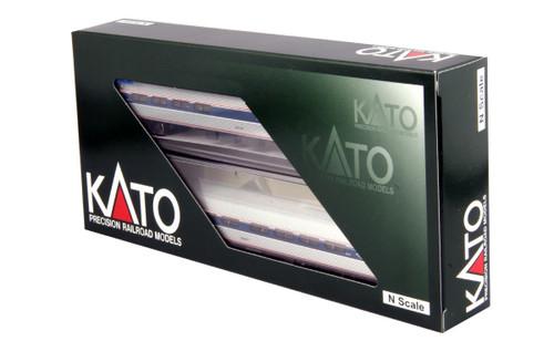 Kato N 1068003 Amfleet I (Phase VI) 2-Car Set B, Amtrak (Coach/Cafe)