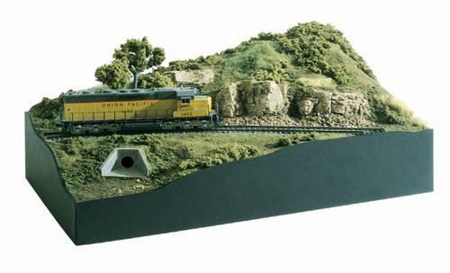 Woodland Scenics N ST1482 Scenic Ridge Layout Kit