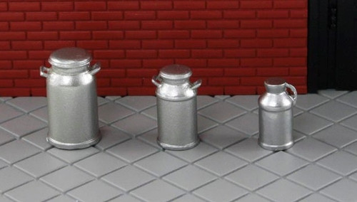 American Heritage Models O 43-911 Milk Can Set (3)