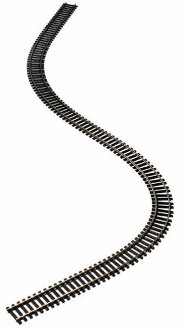 "Atlas HO 178 Code 100 36"" Super-Flex-Track with Black Ties (5)"