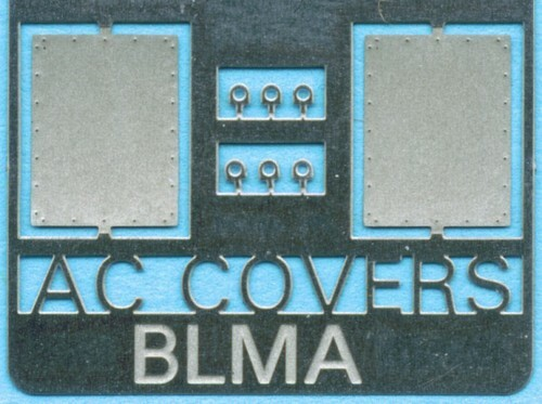 BLMA N 91 Removed AC Cover Plate (for Removed AC Units)