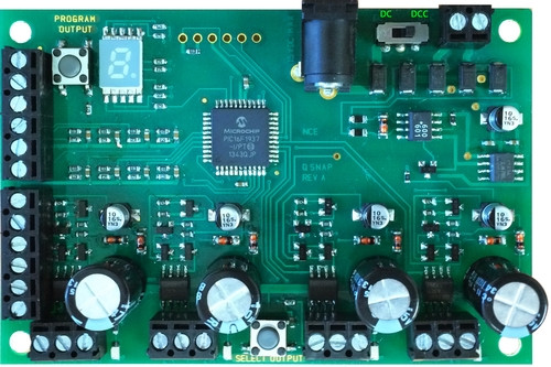 NCE 524153 QSnap-Mk2 Control for 4 Twin Coil Switch Machines