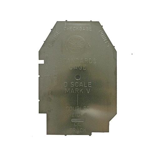 NMRA 98-5-1 Standards Gauge, O Scale (Type 1, Mark V)