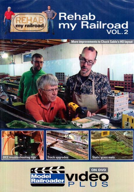 Kalmbach Publishing DVD 15313 Rehab my Railroad Vol. 2