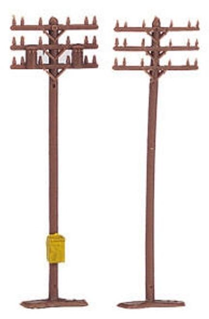 Bachmann N 42506 Telephone Poles (12 pieces)