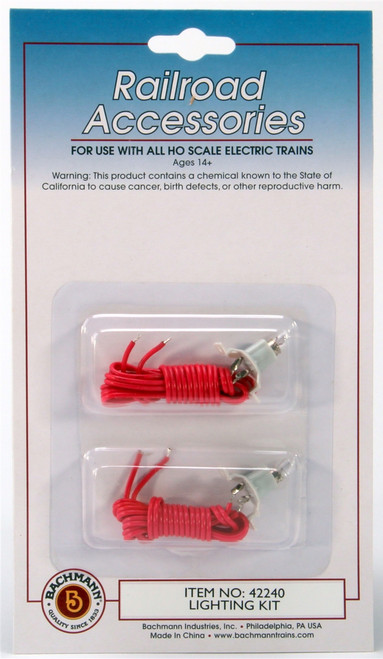 Bachmann 42240 Building Lighting Kit with Incandescent Bulb (2)