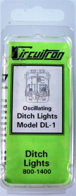 Circuitron 800-1400 DL-1 Oscillating Ditch Lights