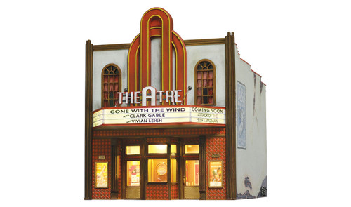 Woodland Scenics O BR5854 Built and Ready Theater (Lighted)