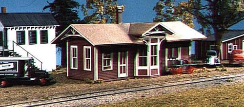 American Model Builders HO 138 Springfield Depot