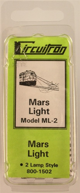 Circuitron 800-1502 ML-2 Mars Light, 2 Lamp Style