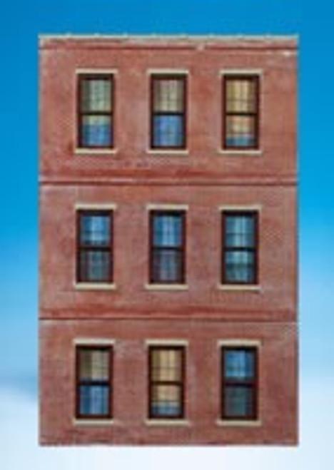 Ameri-Towne O 71 Brick Window Wall with 9 Windows