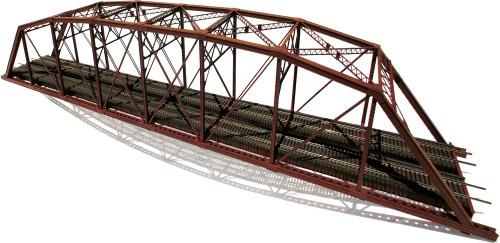 Central Valley Model Works HO 1900 Heavy Duty 200' Parker Double Track Hybrid Truss Bridge Kit