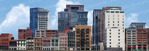 "Realistic Backgrounds 704-02 City Scene B 13"" x 38"""