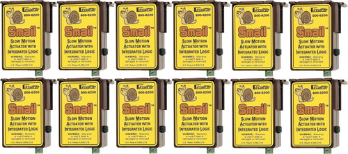 """Circuitron 800-6212 """"Smail"""" Slow Motion Actuator with Integrated Logic (DCC Decoder Equipped) 12-Pack"""