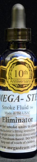 JT's Mega Steam O/HO ELIMINATOR Smoke Fluid 2 Oz. Bottle, Eliminates Bad Smells