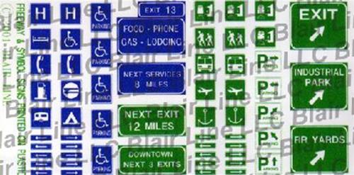 Blair Line N 046 Traffic Signs