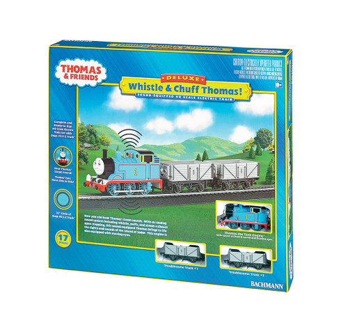 Bachmann HO 00739 Whistle and Chuff Thomas Set (Thomas & Friends Series)