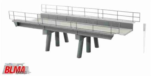 BLMA N 591 Modern Concrete Segmental Bridge Kit, Set B (Segments Only)