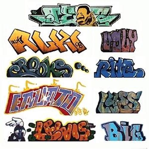 Blair Line HO 2245 Graffiti Decals Mega Set, Set #2 (9)
