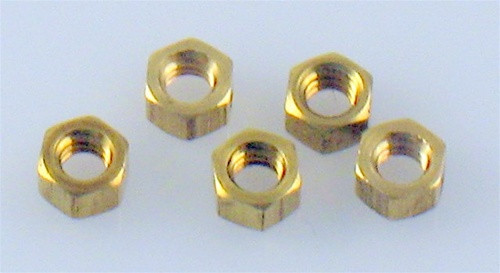 Hob-Bits H882 Hex Nuts Size: 0-80 (5-Pack)