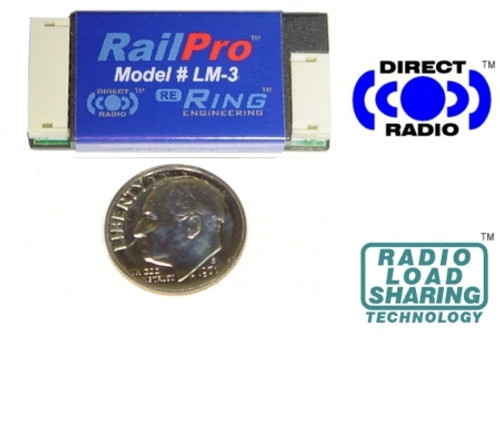 Ring Engineering LM-3 RailPro Loco Module without Sound