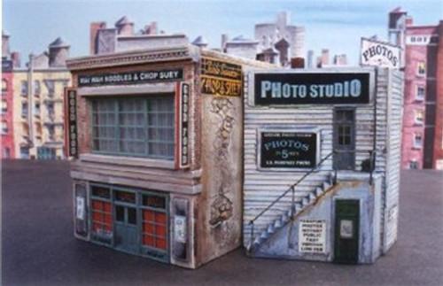 Downtown Deco HO DD1005 Blair Avenue Part I (Unfinished Kit)