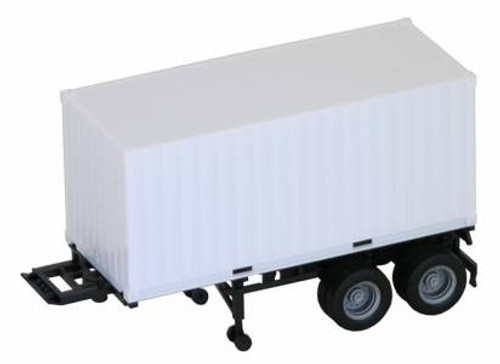Herpa HO 005442 20' Container with Chassis