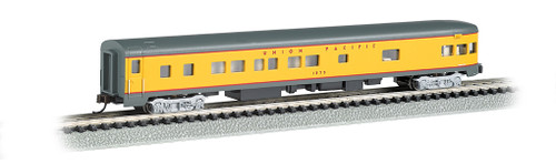 Bachmann N 14354 85' Smoothside 3-2 Observation Car, Union Pacific #1575