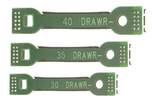 MTH Premier O 20-89011 Proto Sound 2.0 Wireless Drawbar 3-Piece Set (40, 35, & 30 MM) (d)